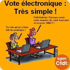 Vote électronnique