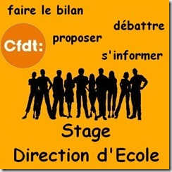 Stage direction d'école