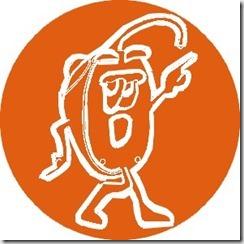 Logo Souris seule orange petite