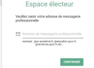 Elections professionnelles 2018 : comment créer son espace électeur ?