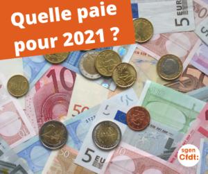 Quelle paye en 2021 pour les enseignants, CPE et PsyEN ?