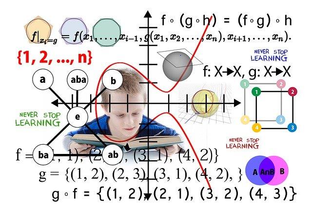 Students Book Learn Mathematics  - geralt / Pixabay