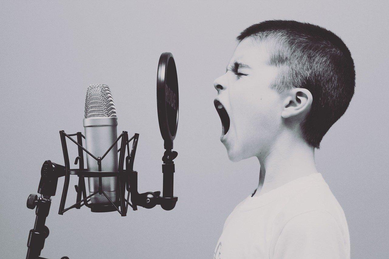Microphone Boy Studio Screaming  - Free-Photos / Pixabay
