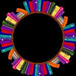 Bookshelves Frame Border Books  - GDJ / Pixabay